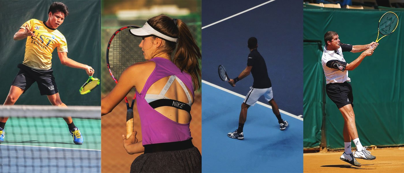 types of tennis player
